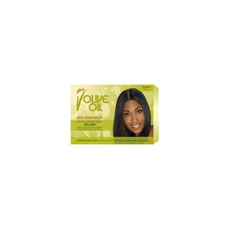 Olive Oil Relaxer Kit Super