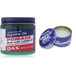 DAX Pomade: Vegetable + Short & Neat